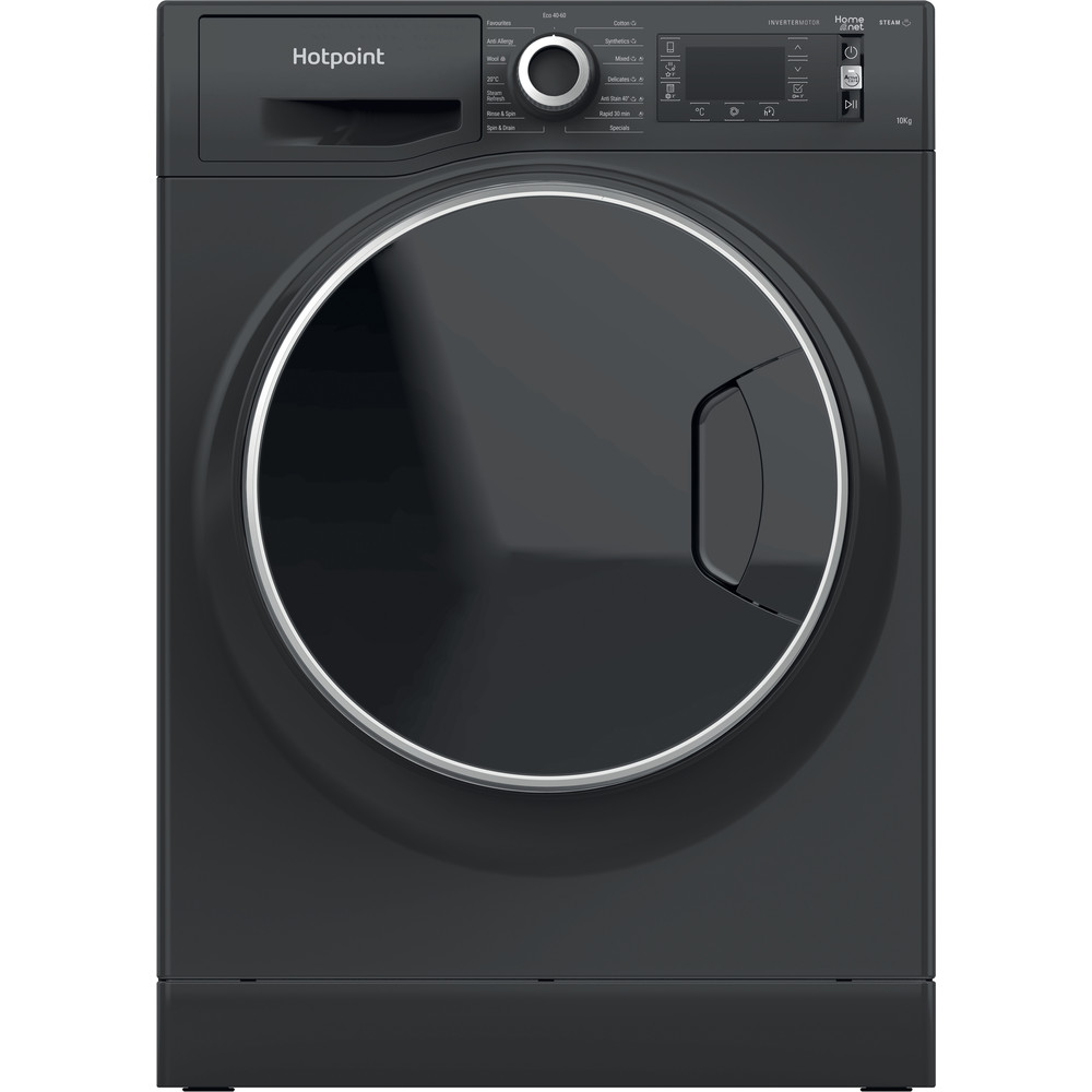 Hotpoint Washing machine Free-standing NLLCD 1064 DGD AW UK N Dark Grey Front loader A+++ Frontal