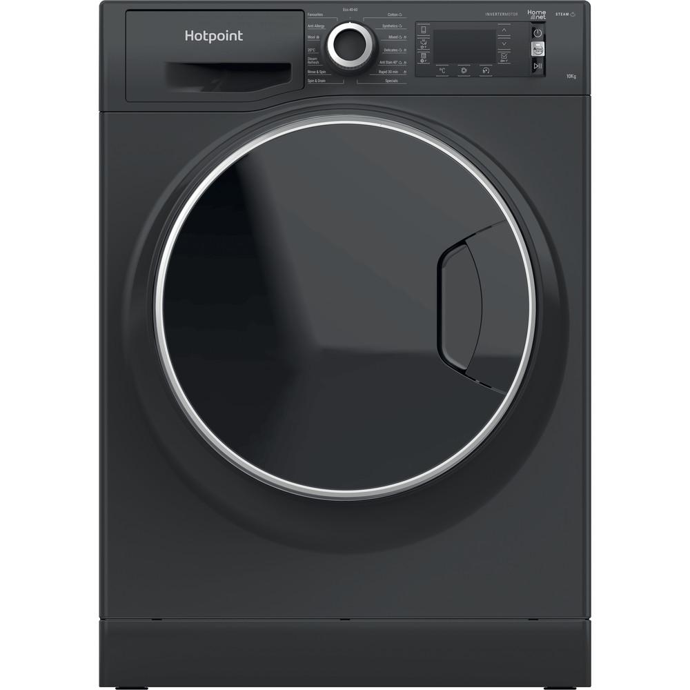 Hotpoint Washing machine Free-standing NLLCD 1064 DGD AW UK N Dark Grey Front loader C Frontal