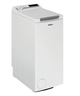 Fritstående Whirlpool-vaskemaskine med topbetjening: 6,0 kg - TDLR 6241BS FN/N