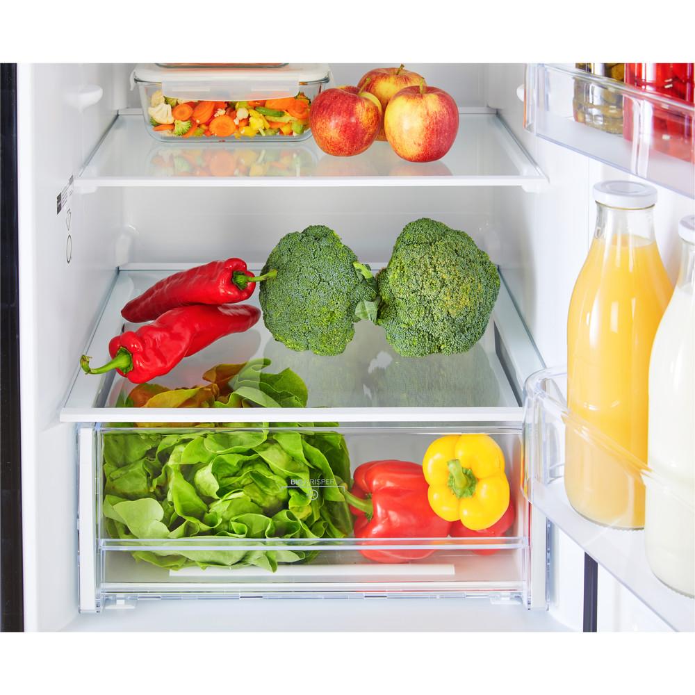 Indesit Réfrigérateur combiné Pose-libre LR8 S2 K B Noir 2 portes Drawer