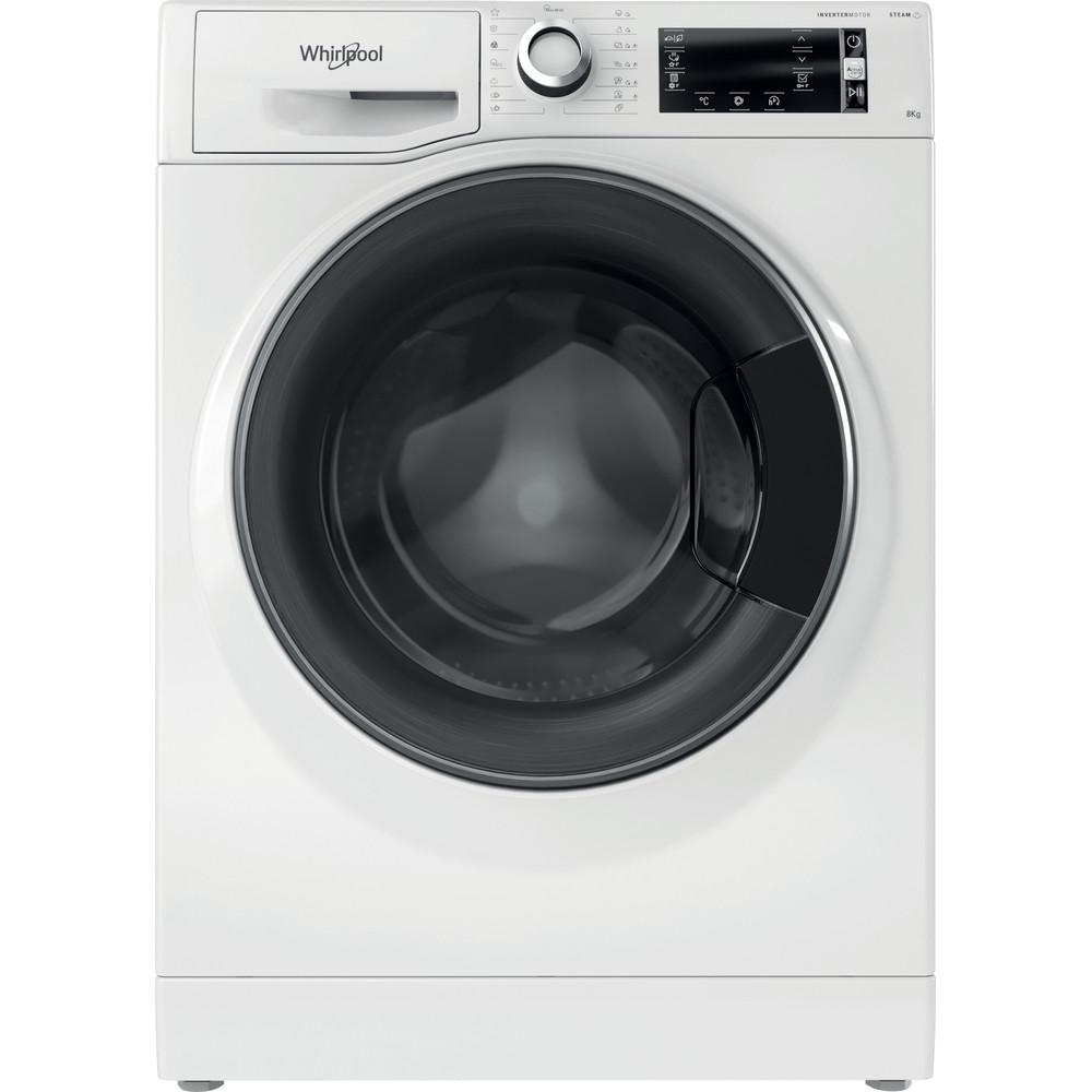 Whirlpool frontmatad tvättmaskin: 8 kg - NWLCD 845 WD A EU N