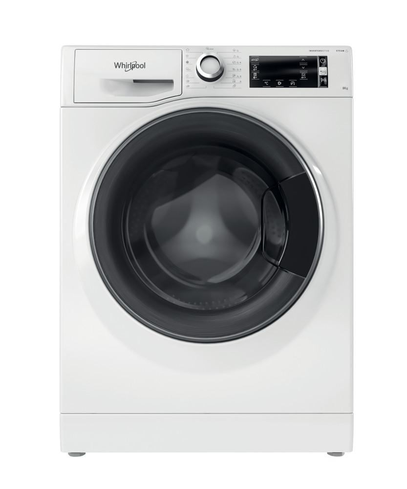 Whirlpool Pesukone Vapaasti sijoitettava NWLCD 845 WD A EU N Valkoinen Edestä täytettävä B Frontal