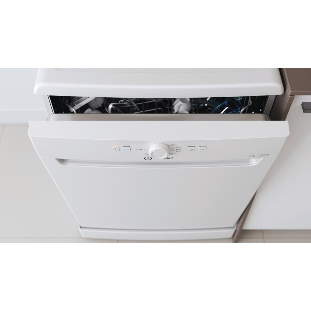 Indesit Посудомоечная машина Отдельностоящий DFE 1B10 Отдельностоящий A Lifestyle control panel