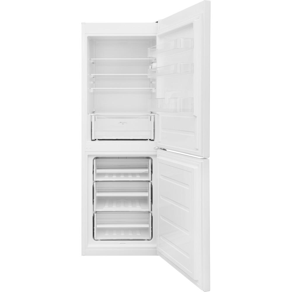 Indesit Kombinovaná chladnička s mrazničkou Voľne stojace LR7 S2 W Biela 2 doors Frontal open