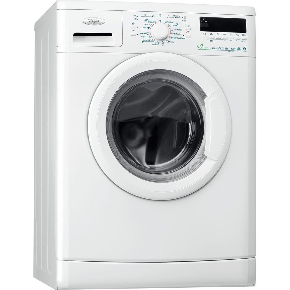 Whirlpool frontmatad tvättmaskin: 8 kg - AWO/D 8224