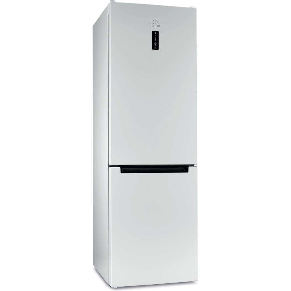 Indesit Холодильник с морозильной камерой Отдельностоящий DFN 18 D Белый 2 doors Perspective