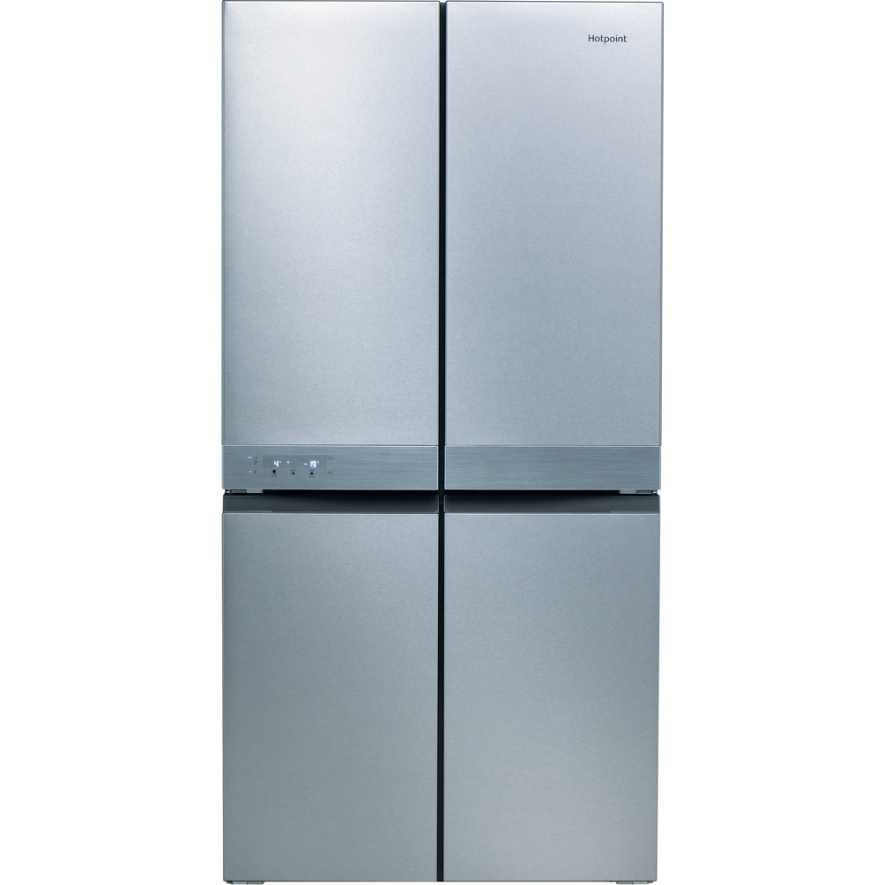 Hotpoint Side-by-Side Free-standing HQ9 B1L 1 Inox Look Frontal