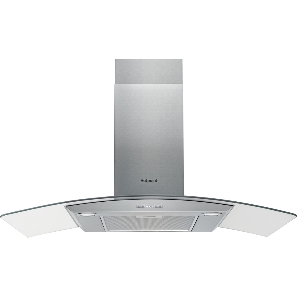 Hotpoint HOOD Built-in PHGC9.5FABX Inox Wall-mounted Electronic Frontal