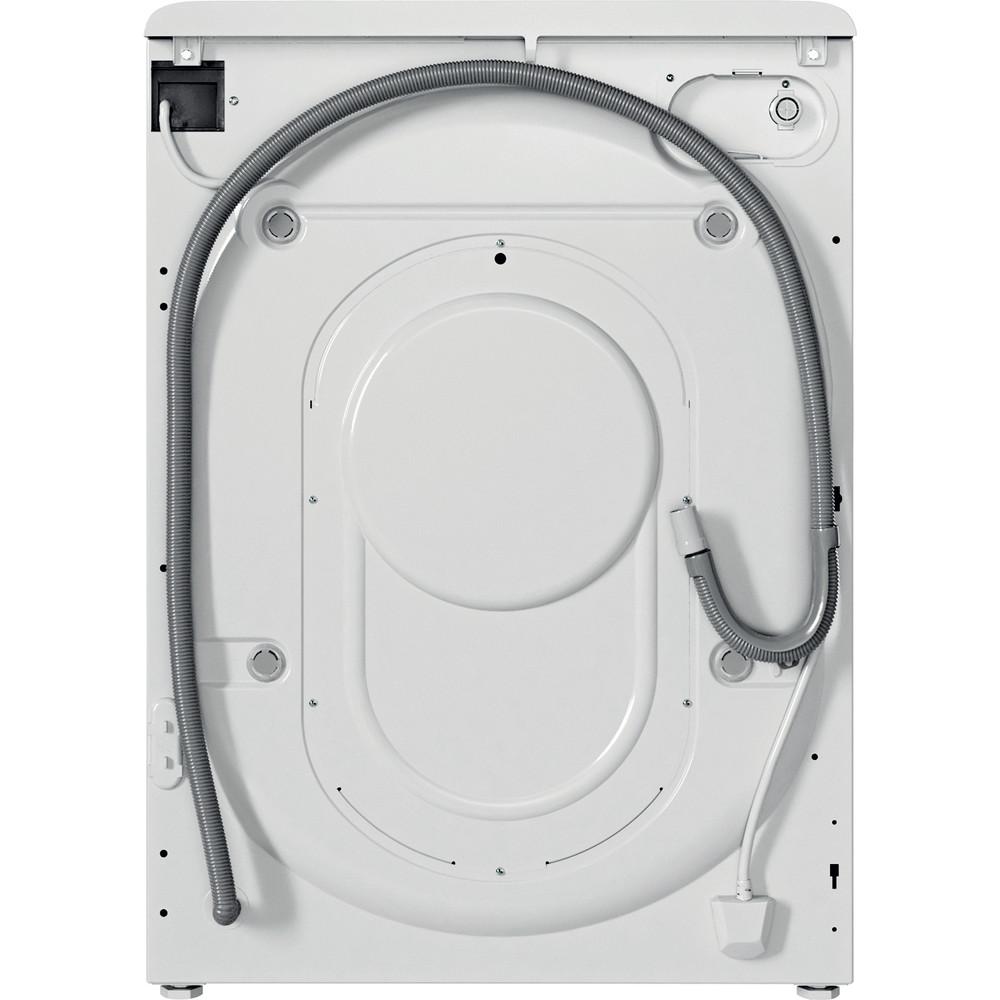 Indesit Пералня със сушилня Свободностоящи BDE 961483X WS EU N Бял Предно зареждане Back / Lateral