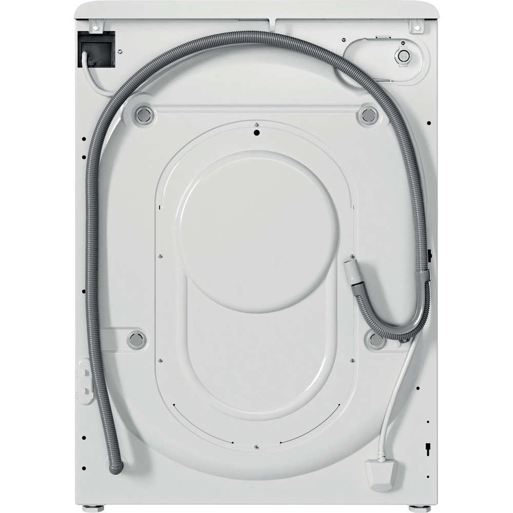 Indesit Waschtrockner Freistehend BDE 961483X WS EU N Weiß Frontlader Back / Lateral