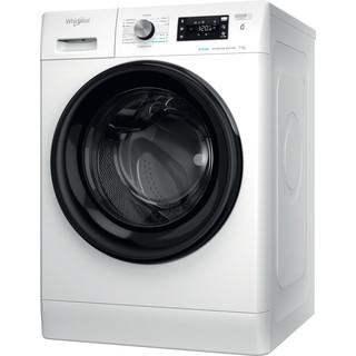 Whirlpool Veļas mazgājamā mašīna Brīvi stāvošs FFB 7238 BV EE Balta Priekšējās ielādes D Perspective