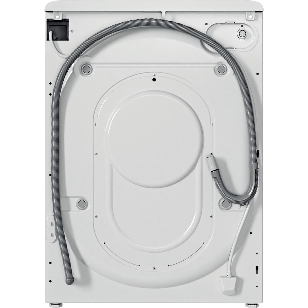 Indesit Kombineret vaskemaskine/tørretumbler Fritstående BDE 861483X WS EU N Hvid Frontbetjent Back / Lateral