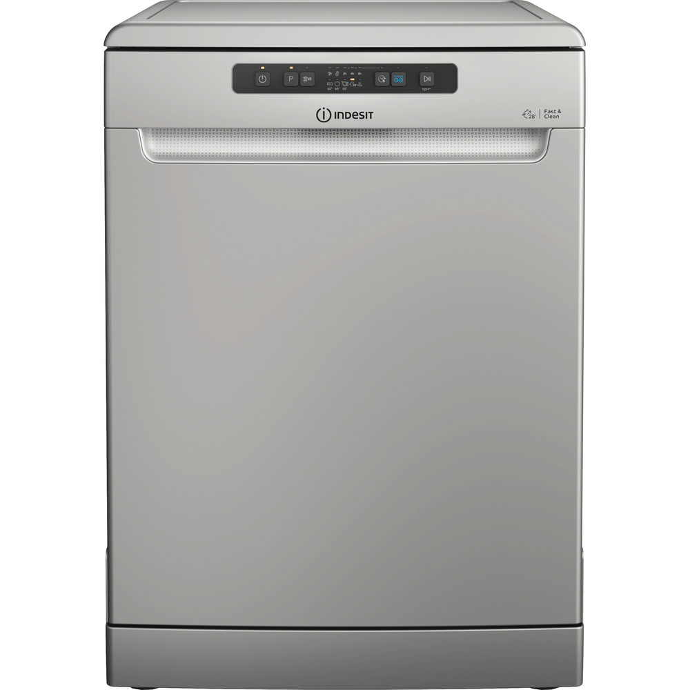 Indesit Dishwasher Free-standing DFC 2B+16 S UK Free-standing F Frontal