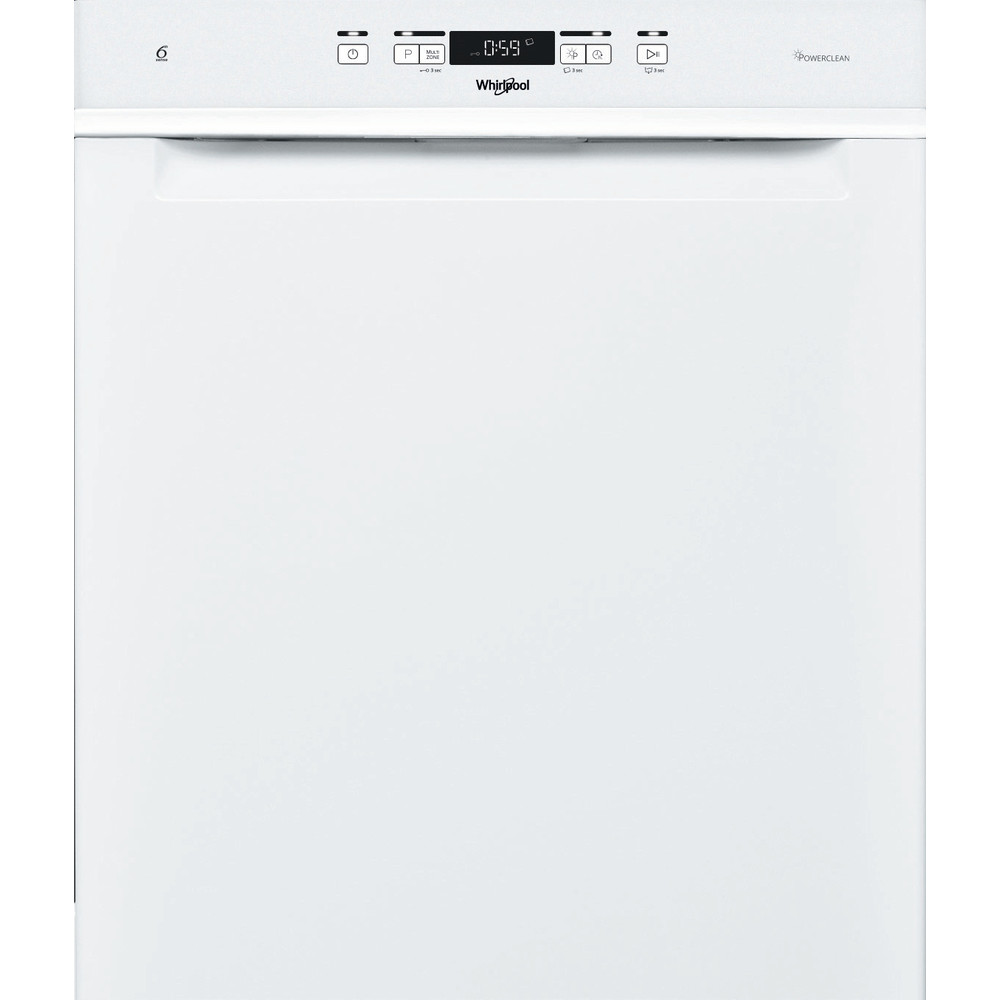 Whirlpool oppvaskmaskin: farge hvit, 60 cm - WUC 3C32 P