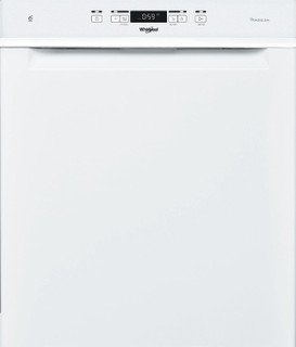 Whirlpool-opvaskemaskine: hvid farve, fuld størrelse - WUC 3C32 P