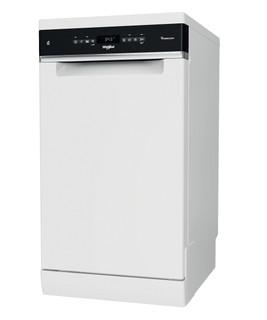 Whirlpool Geschirrspüler: Farbe Weiß., Slimline. - WSFO 3O23 PF