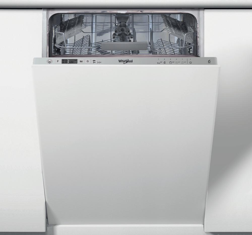 Whirlpool Dishwasher Vgradni WSIC 3M17 Povsem vgrajen F Frontal