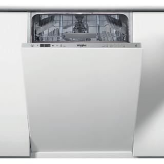 Whirlpool Trauku mazgājamā mašīna Iebūvējams WSIC 3M17 Full-integrated F Frontal