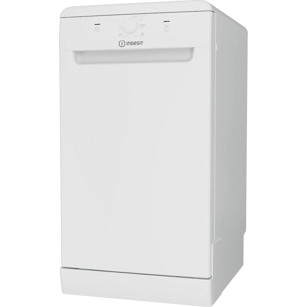Indesit Umývačka riadu Voľne stojace DSFE 1B10 Voľne stojace F Perspective