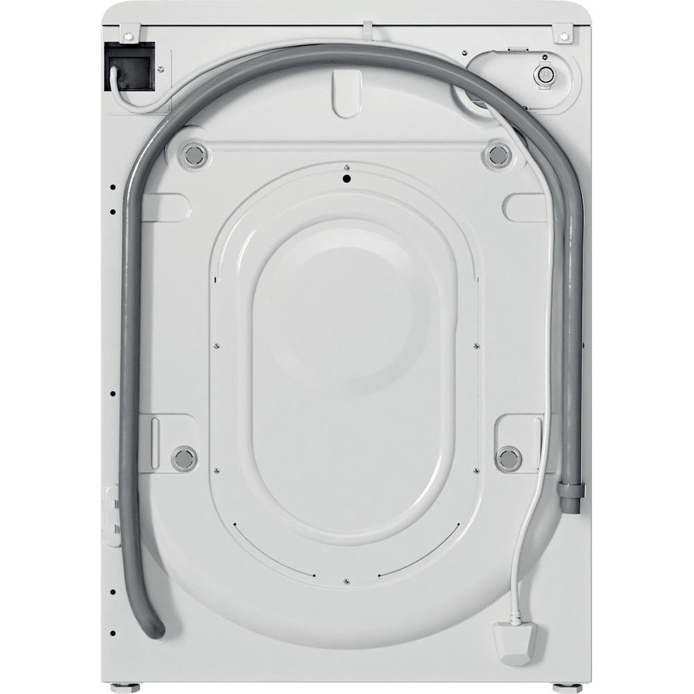 Indesit Pračka Volně stojící BWSA 61051 W EU N Bílá Front loader F Back / Lateral