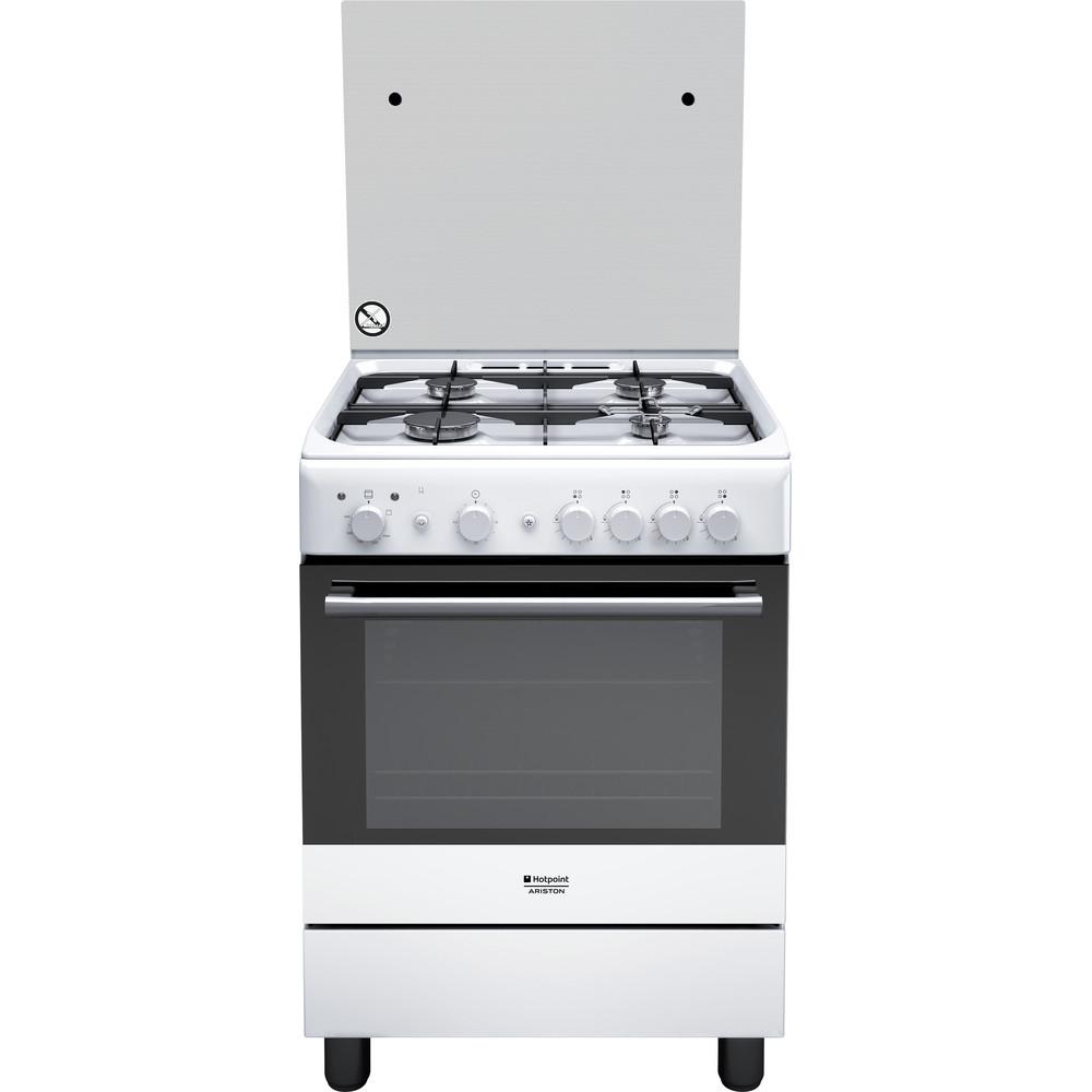 Hotpoint_Ariston Cucina con forno a doppia cavità H6GG1F (W) IT Bianco Frontal