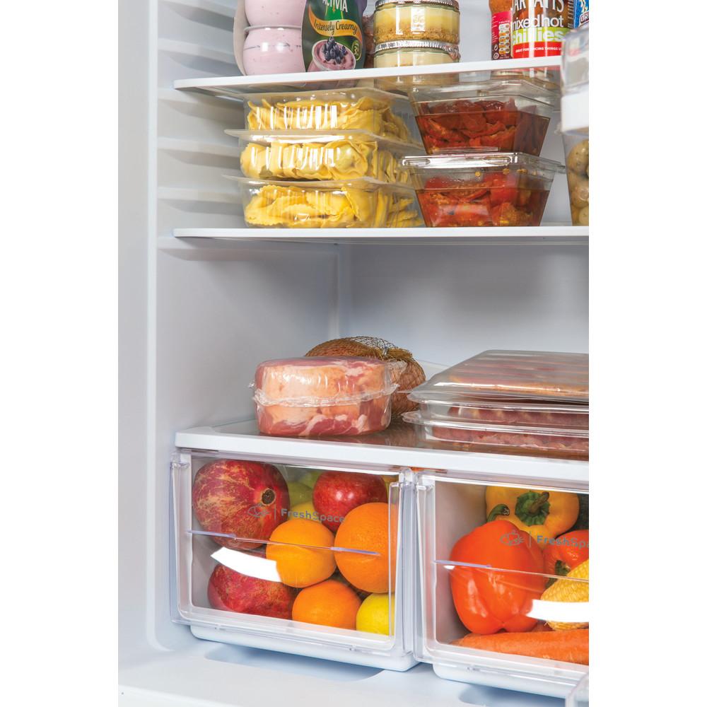 Indesit Fridge Freezer Free-standing IBD 5515 S 1 Silver 2 doors Lifestyle detail