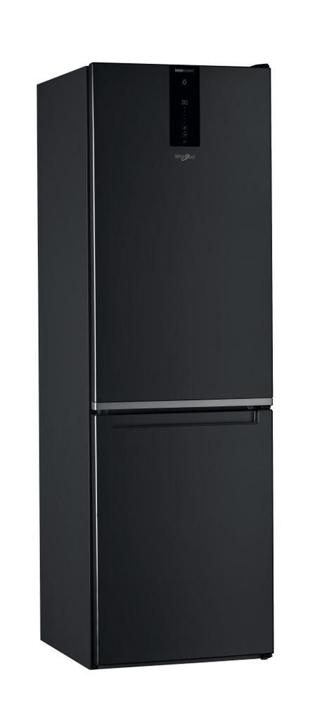 Whirlpool Kombinacija hladnjaka/zamrzivača Samostojeći W7 821O K Crna 2 doors Perspective