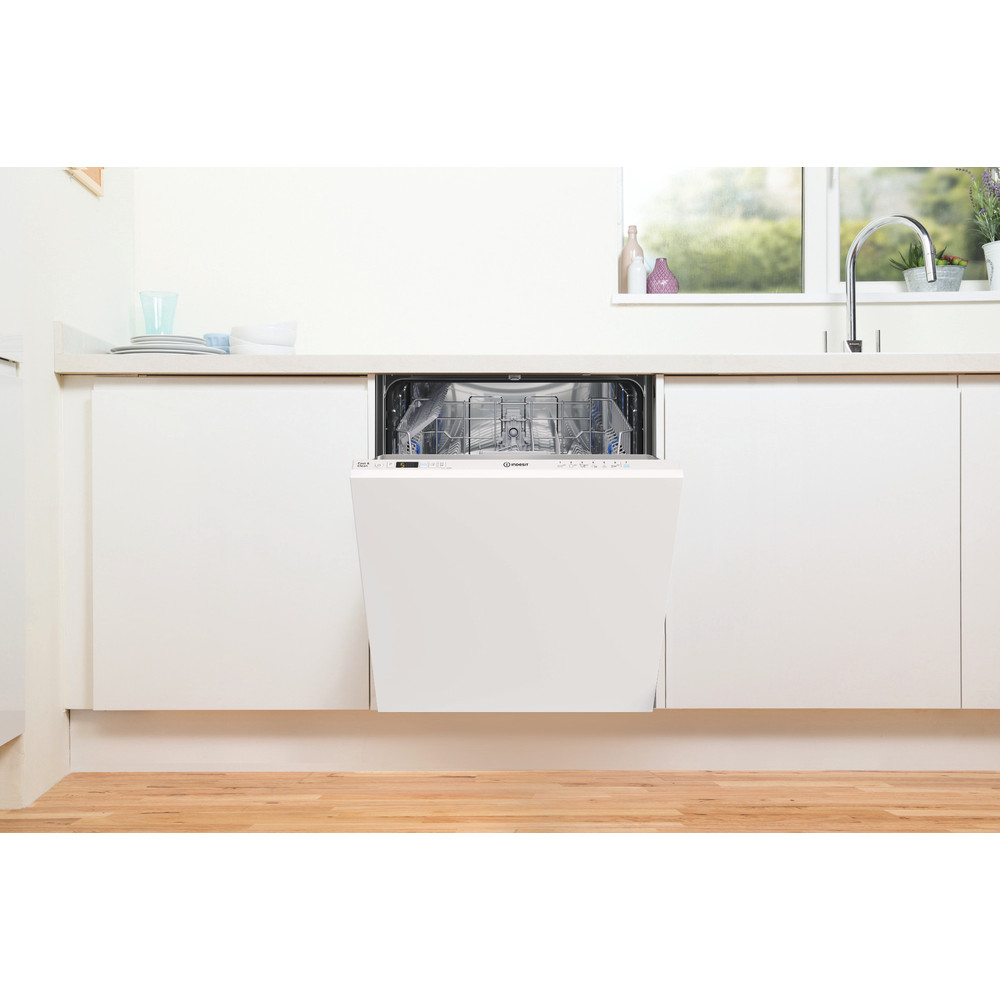 Indesit Dishwasher Built-in DIC 3B+16 UK Full-integrated F Lifestyle frontal