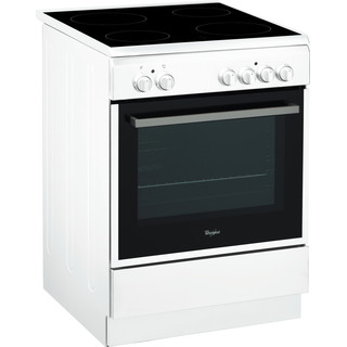 Whirlpool Plīts ACMT 6533/WH Inox/Melna Electrical Perspective