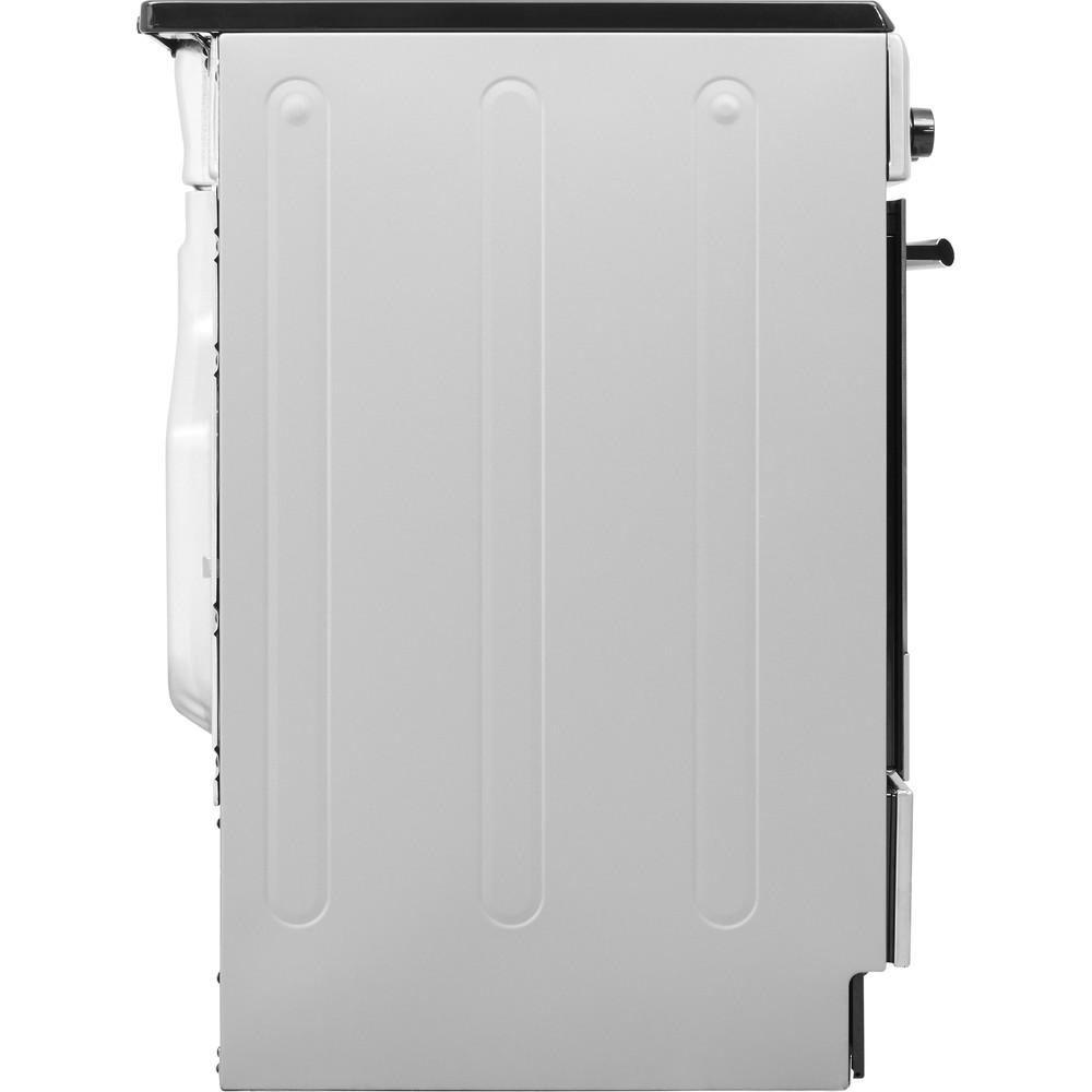 Hotpoint_Ariston Cucina con forno a doppia cavità H6IMAAC (X) Inox Elettrico Back / Lateral