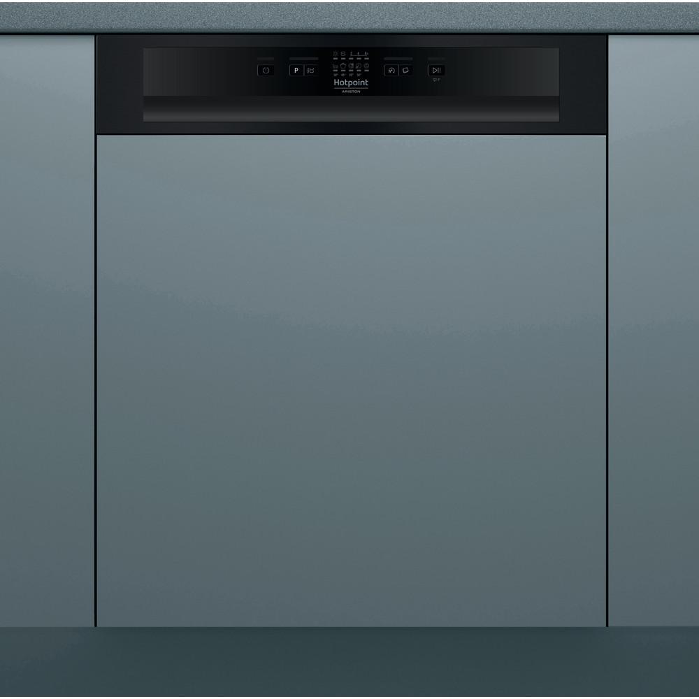 Hotpoint_Ariston Máquina de lavar loiça Encastre HB 4010 B Encastre parcial F Frontal