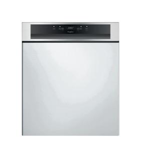 Whirlpool félig integrált mosogatógép: Inox szín, normál méretű - WBC 3C26 X