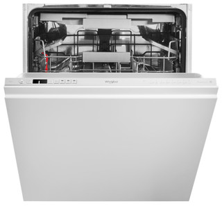 Whirlpool integrated dishwasher: silver colour, full size - WIC 3C26 PF SA
