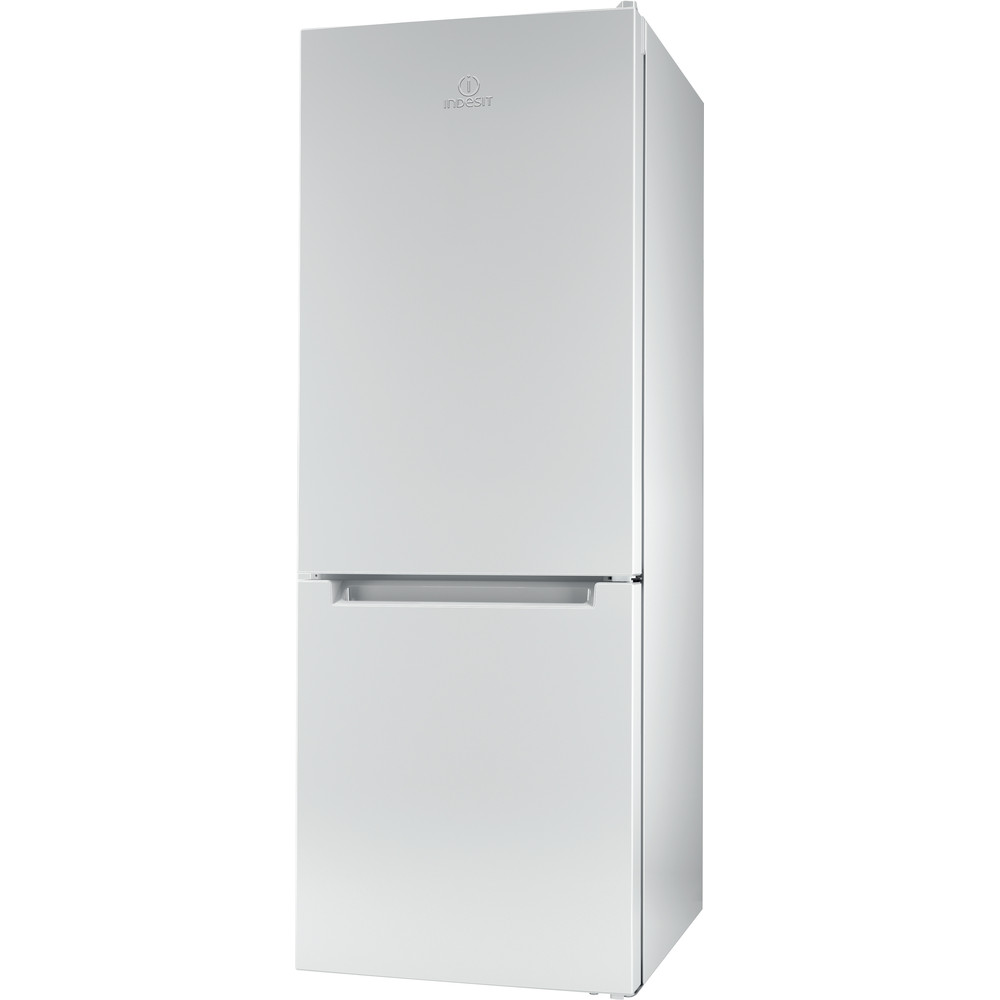 Indesit Fridge Freezer Free-standing LR6 S1 W UK.1 White 2 doors Perspective