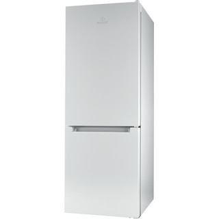 Indesit Fridge Freezer Free-standing LR6 S1 W UK.1 White 2 doors Perspective