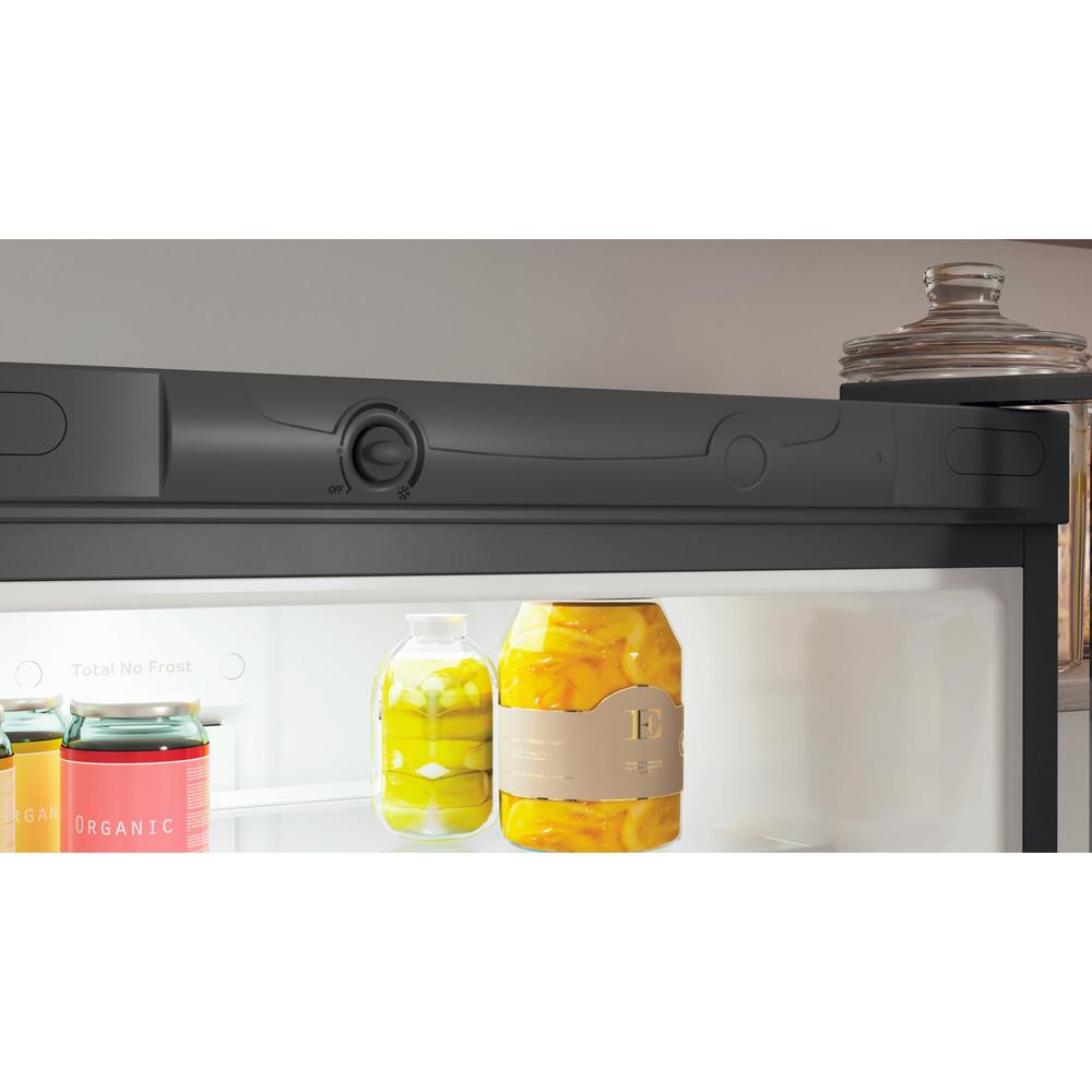 Indesit Холодильник с морозильной камерой Отдельностоящий ITD 4180 S Серебристый 2 doors Lifestyle control panel