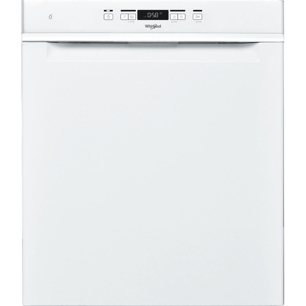 Whirlpool diskmaskin: färg vit, 60 cm - WUC 3C33 F