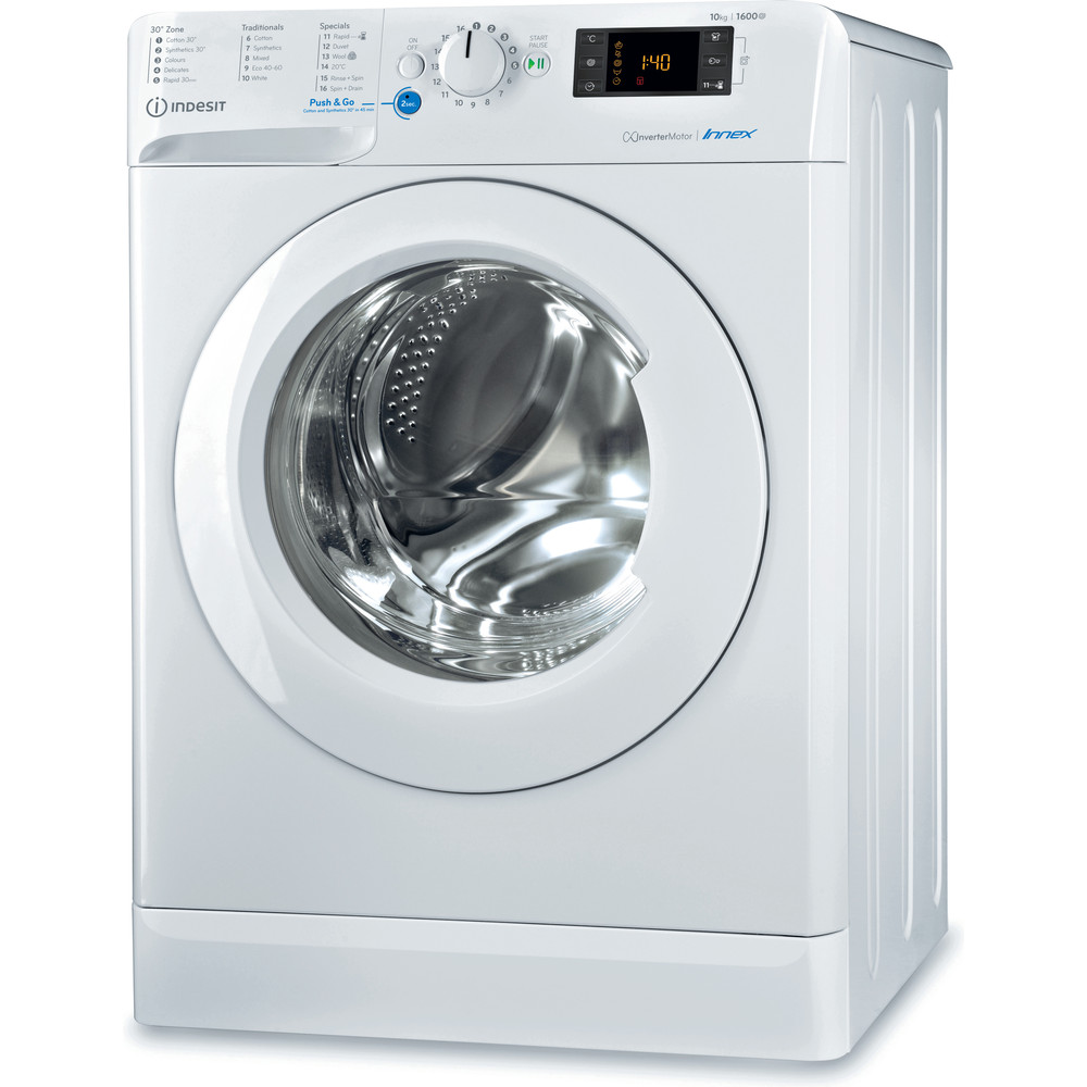 Indesit Innex BWE 101683X W UK N Washing Machine - White
