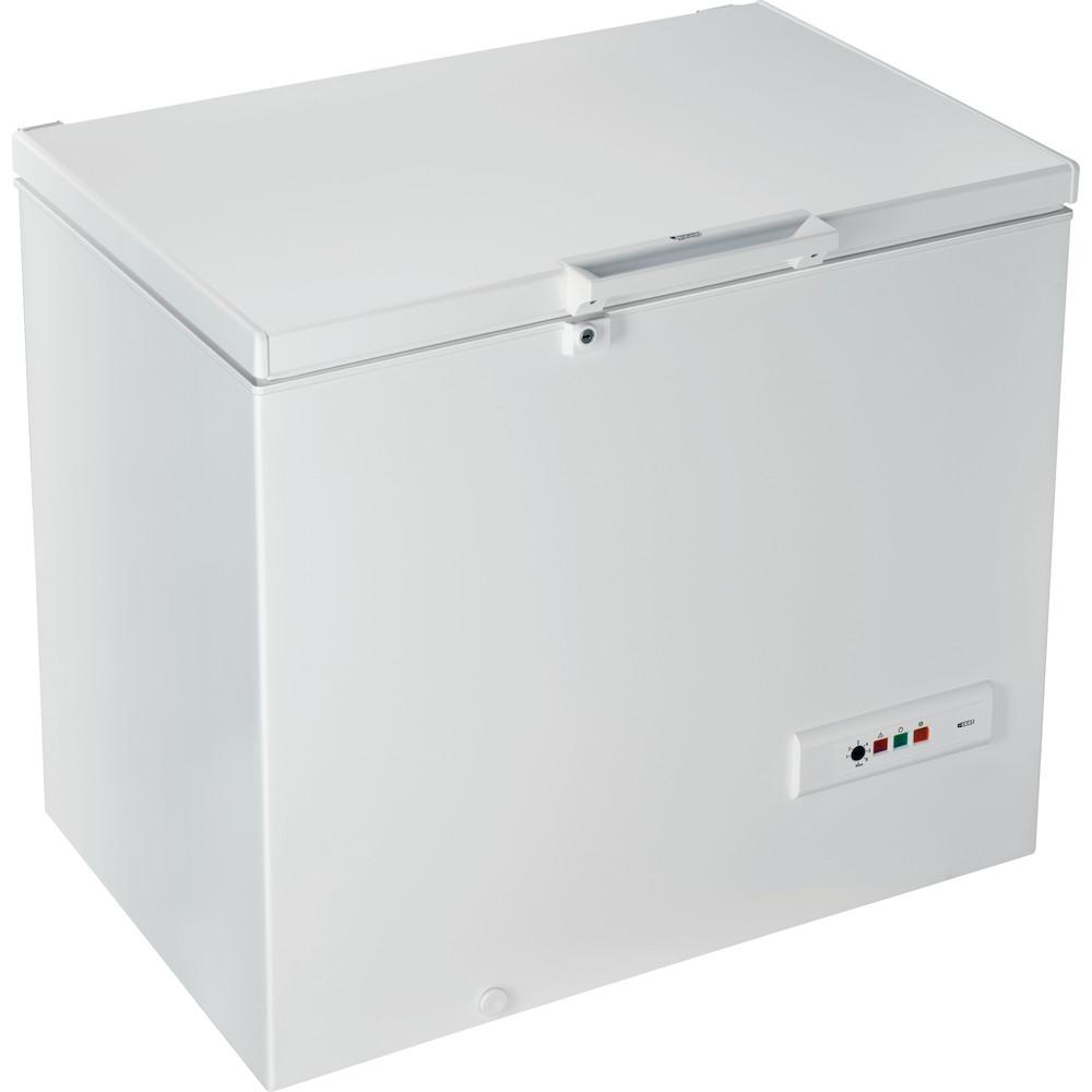 Hotpoint_Ariston Congelatore Libera installazione CS1A 250 H Bianco Perspective