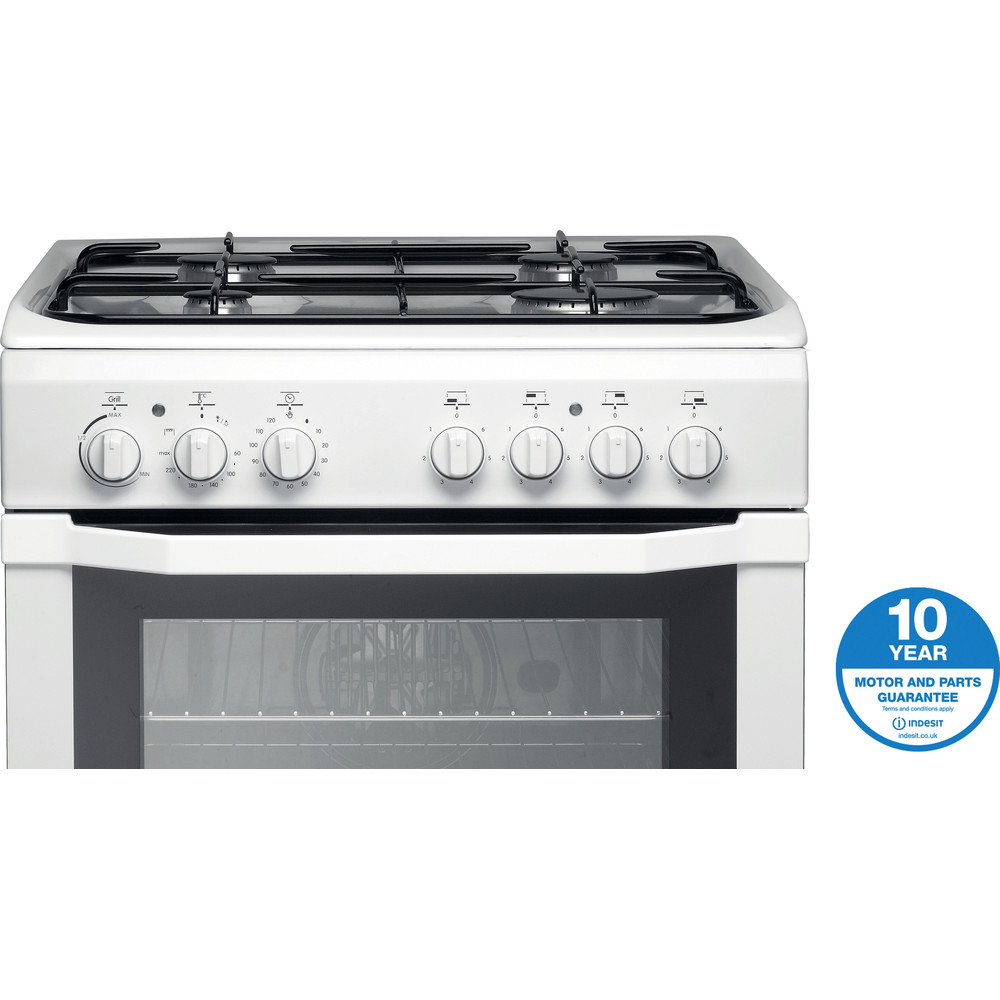 Indesit Cooker I6GG1(W)/UK White Award