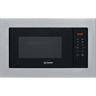 Indesit Microwave Built-in MWI 125 GX UK Stainless steel Electronic 25 MW+Grill function 900 Frontal
