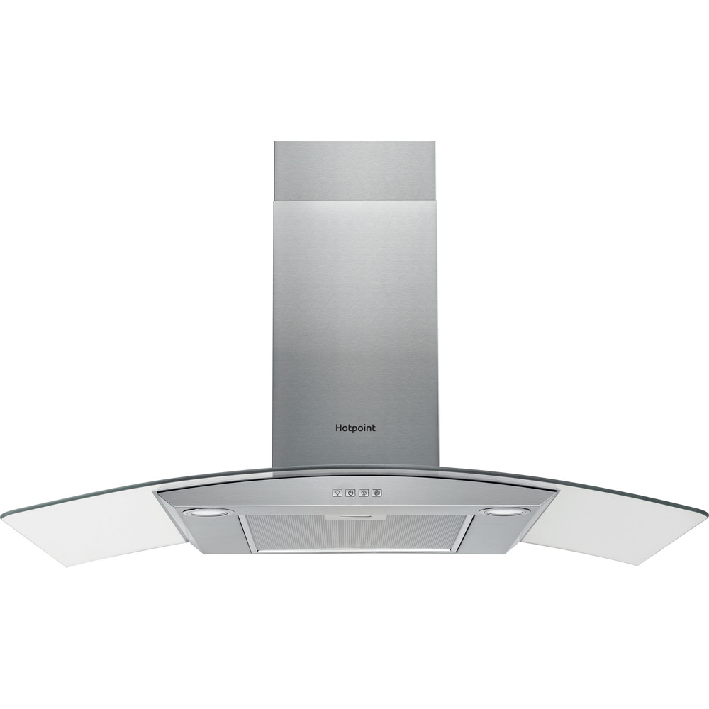 Hotpoint HOOD Built-in PHGC9.4FLMX Inox Wall-mounted Mechanical Frontal