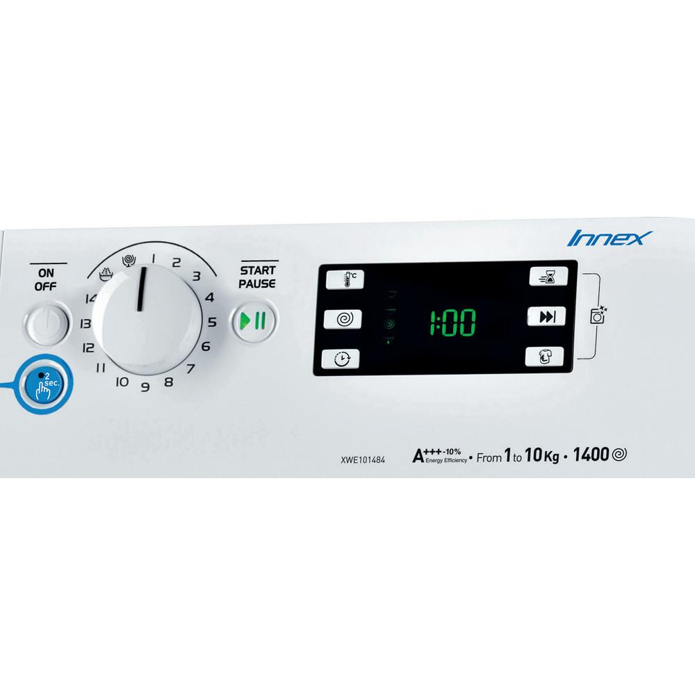 Indesit Lavabiancheria A libera installazione XWE 101484X WSSS EU Bianco Carica frontale A+++ Control_Panel