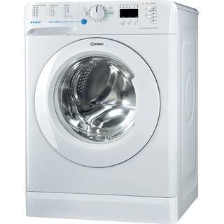 Indesit Пральна машина Соло BWSA 51052W EU Білий Front loader A++ Perspective
