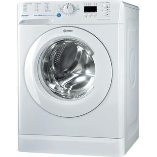 Indesit Pračka Volně stojící BWSA 51052W EU Bílá Front loader A++ Perspective
