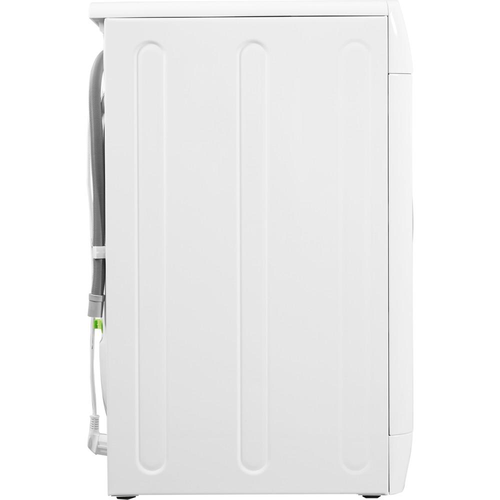 Indesit Lavasciugabiancheria A libera installazione IWDE 7125 B (EU) Bianco Carica frontale Back / Lateral