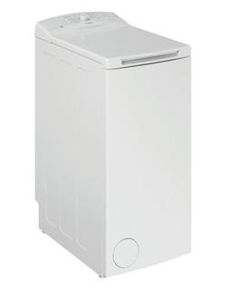 Fritstående Whirlpool-vaskemaskine med topbetjening: 7,0 kg - TDLR 7220LS EU/N