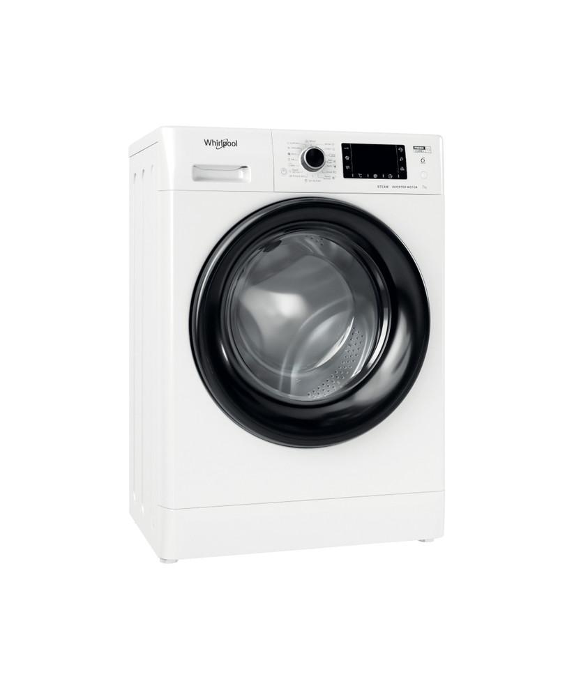 Whirlpool Washing machine Samostojni FWSD 71283 BV EE N Bela Front loader D Perspective