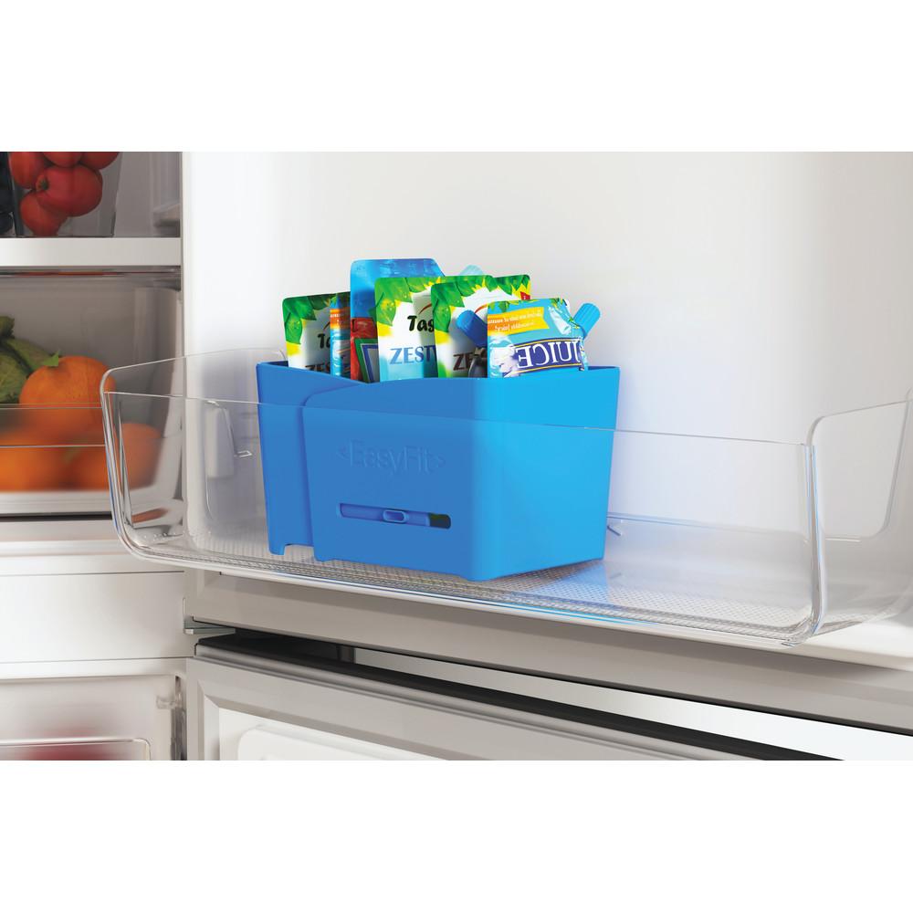 Indesit Холодильник з нижньою морозильною камерою. Соло ITI 5181 S UA Сріблястий 2 двері Accessory