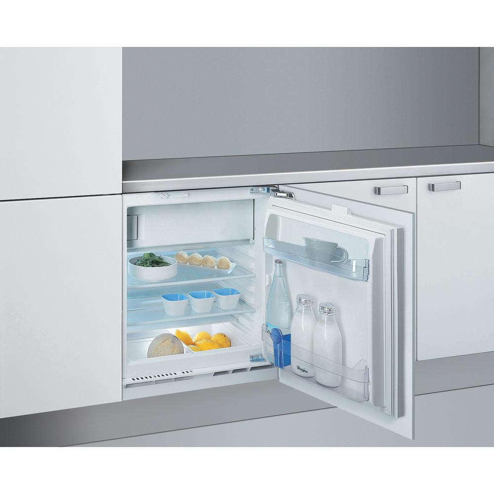 Холодильник Whirlpool вбудований: білий колір - ARG 590/A+